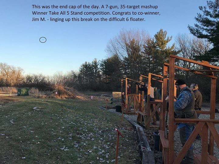 SATURDAY OPENING TIMES – 5 STAND CLAYS COURSE